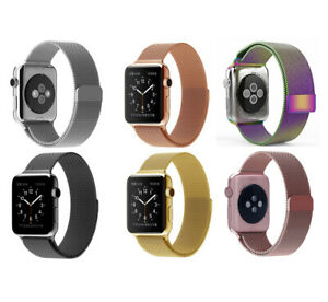 Milanese Magnetic Stainless Loop Mesh Band for Apple Watch Series 6 5 4 3 2 1