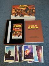 Zulu Dawn Rare Limited Edition Boxset VHS Tape + Poster + Script + Postcards
