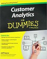 Customer Analytics For Dummies [Paperback] Sauro, Jeff