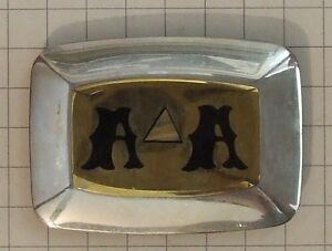 Vintage Prison-made 'A A' Belt Buckle, Made by Hand – $305