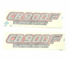 Side Cover Panel Decal Set - Honda CB900F Super Sport CB900 - 1982 - Black Model