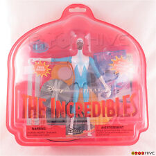 Disney Pixar the Incredibles Frozone figure ring collector card worn package