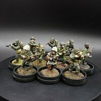Painted 28mm Bolt Action us winter infantry ×10 Squad #1 old bolt action casts