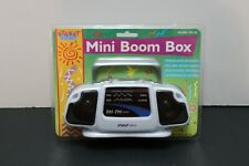 Street Beat Mini Boom Box Am/Fm Radio Model PR-18 White