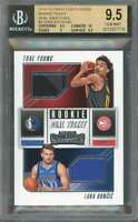 Young /Doncic 2018-19 Panini Cont Rc Ticket Swatches #4 BGS 9.5 (9.5 10 9 9.5)