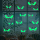 Glowing In The Dark Eyes Wall Glass Sticker Halloween Fluorescent stickersB .