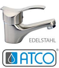 ATCO® Waschtischarmatur Einhebelmischer Waschbecken Wasserhahn Bad WC Edelstahl