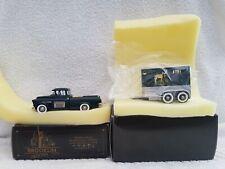 Brooklin Models 1/43 Brk.53x & Brk.62 Blue Grass Farms 55 Chevy & Horse Trailer