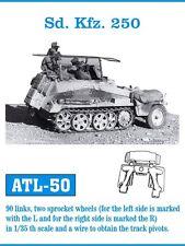 FRIUL ATL-50 1/35 Sd.Kfz. 250, 90 Glieder, 2 Sprocket Wheels