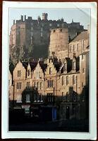Edinburgh Castle from the Grassmarket, Scotland. Big Post Card