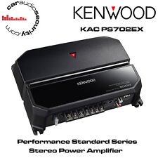 Kenwood KAC-PS702EX - Stereo/Mono Bridgeable Power Car Amplifier 500W