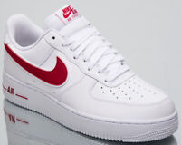Nike Air Force 1 '07 3 Men's New White Gym Red AF1 Lifestyle Sneakers AO2423-102