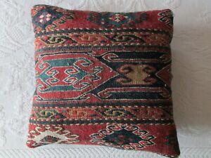 Turkish Kilim Rug 31/'/'x41/'/' Anatolian Vintage Unique Handwoven Glossy Wool Kilim Rug Handmade Bohemian Reversible Authentic Shiny Area Rug