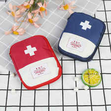 Mini Emergency Survival First Aid Kit Pack Travel Medical Sports Bag Case Po ST