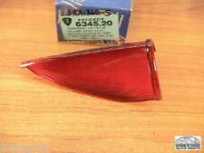 Peugeot 404 Sedan Tail Light Lens Upper Red  6345.20  NOS  1960-1964