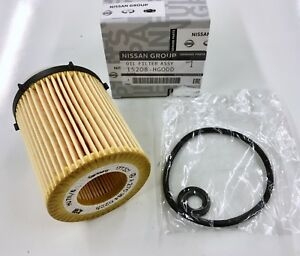New OEM Infiniti Q60 Q50 QX30 2.0L Turbo Oil Filter w/ Gaskets 2017 2018