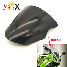 Motorcycle Windscreen Windshield Flyscreen For Kawasaki ER-6N ER6N 2009-2011 13