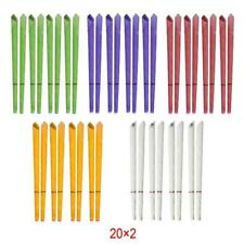 Incutex 40x wax ear candles hopi with various fragrances and colours