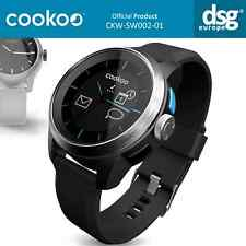 COOKOO SMART WATCH BLUETOOTH ANDROID IOS SILVER BLACK