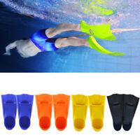 Swimming Snorkeling Scuba Sea Training Short Fins Swim Flippers Pool Beach New