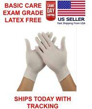 1 BOXES of 100 Gloves. Premium LATEX Examination Gloves - Power Free - ( Non Vin