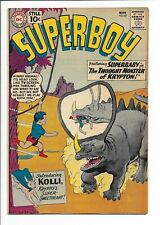 SUPERBOY #87 VF- (1961) Intro of Kolli the 2nd Superdog, No Restoration