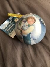 THE SNOWMAN & THE SNOWDOG CHRISTMAS BAUBLE NEW