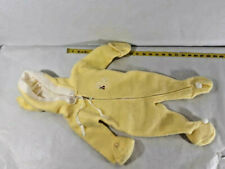 Vintage Infant Baby Snow Suit Hooded Zip Up 1950's Birth to 9 month ~ Ships FREE