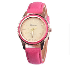 Ladies Wrist Watches Women Casual Watch Quartz Analogue S Steel Leather Gift Uk