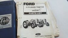 Ford 4-Cylinder Tractors 1953-1964 Parts Catalog PA-8800C,Vintage, Free ship!