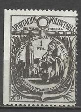 7401-SELLO FISCAL ORFANATO HIJOS DE NAUFRAGOS POBRES ,VIRGEN DELCARMEN.AÑO 1930/