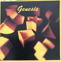 GENESIS SELF TITLED CD GENCD1 CHARISMA UK SILVER FACE RED PRINT EMI SWINDON