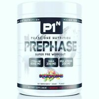 Phase One  PrePhase Hardcore Pre Workout Energy Pump DMHA 30 Servings, 2 FLAVORS