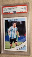 2018-19 Panini Donruss Soccer #88 Lionel Messi Argentina PSA 10💎INVEST💎📈🐐
