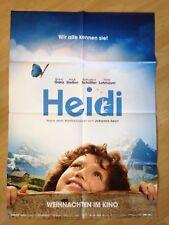 Filmposter * Kinoplakat * A1 * Heidi * 2015 * Teaser * Regie: Alain Gsponer