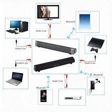 TV Home Theater Bass Soundbar Bluetooth Sound Bar Speaker System Subwoofer SW