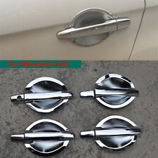 High Quality ABS Chrome Door Handles Bowl Cup Covers Trim for Mitsubishi ASX