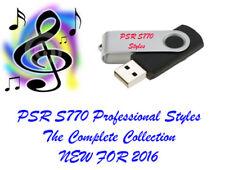 YAMAHA PSR S770 PROFESSIONAL Styles et midi sur une clé USB. incroyable qualité