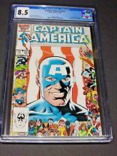 Captain America #323 CGC 8.5 White Pgs Key 1st Appear John Walker Super-Patriot
