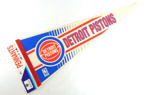 Wincraft Detroit Pistons Full SizeBasketball NBA Felt Pennant