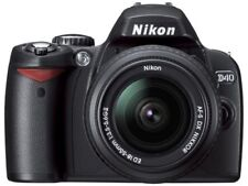 Nikon Digital Single-Lens Reflex Camera D40 Lens Kit Black D40Blk