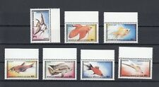 TIMBRE STAMP 7  MONGOLIE  Y&T#1485-91 POISSON FISH NEUF**/MNH-MINT 1987  ~B11