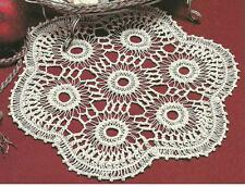 *Hairpin Lace Doily crochet PATTERN INSTRUCTIONS
