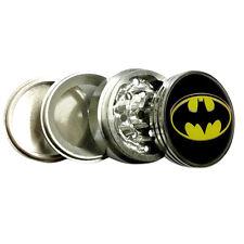 "Batman Logo 2.25"" Kitchen Spice Herb Grinder Metal Tobacco Crusher DC Comics"