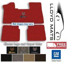 71-85 Cadillac Eldorado - Classic Loop Carpet Floor Mats - Choose Color & Logo