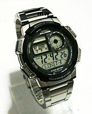 Casio AE-1000WD World Time Illuminator Digital Watch AE1000 AE1000W AE-1000WD-1A