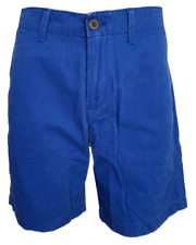 """MEN`S NEW AMERICAN EAGLE COTTON CHINO SHORTS SIZE 34""""W MID BLUE"""