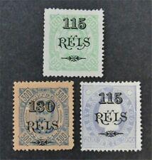 nystamps Portugal Angola Stamp # 64//79 Mint OG H $54