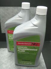 Honda Genuine MTF Manual Transmission Fluid OEM - Pack of 2 - Ships Fast!