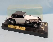 CF17/133 SOLIDO / FRANCE / AGE D OR / DELAGE D8 120 1939 CAPOTEE 1/43
